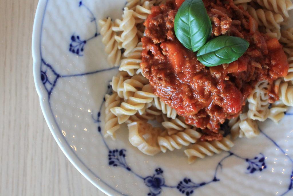Spaghetti kødsovs