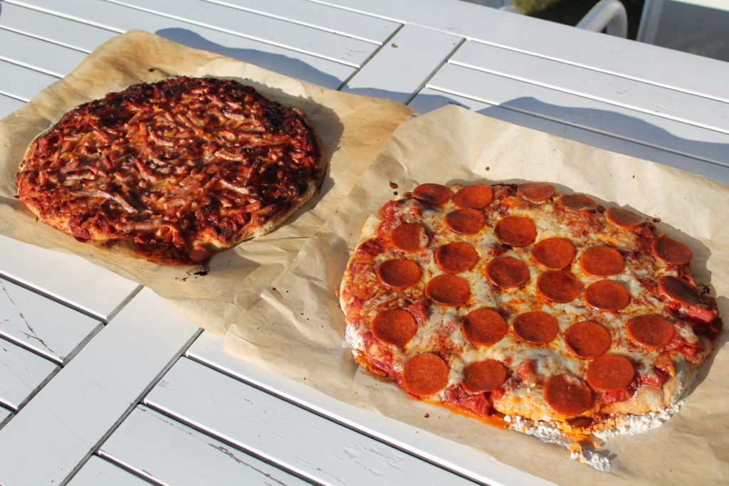Fuldkorns pizzaer