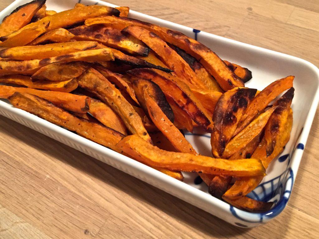 sød kartoffel fritter