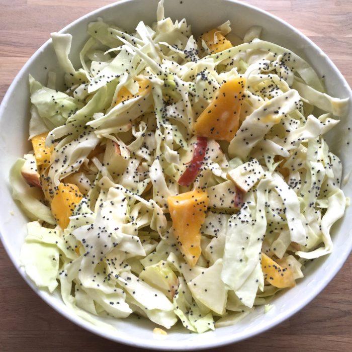 Mango/æble salat