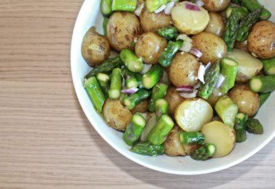 Asparges kartoffelsalat