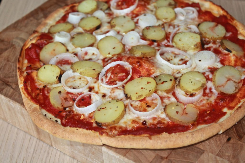 Monster pizza