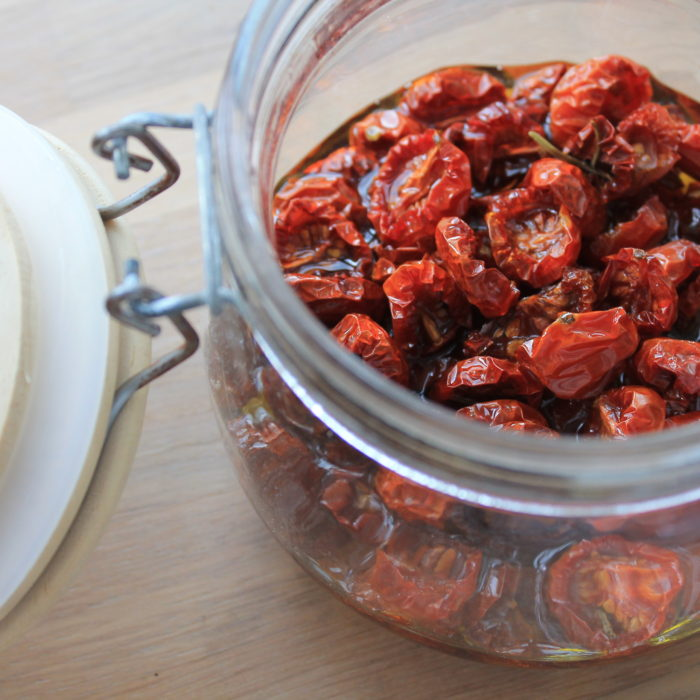 Ovntørrede tomater